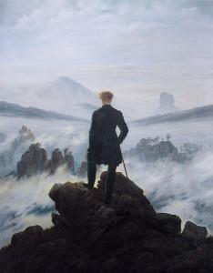 Caspar David Friedrich: Vaeltaja sumumeren yllä (Der Wanderer über dem Nebelmeer, 1818)